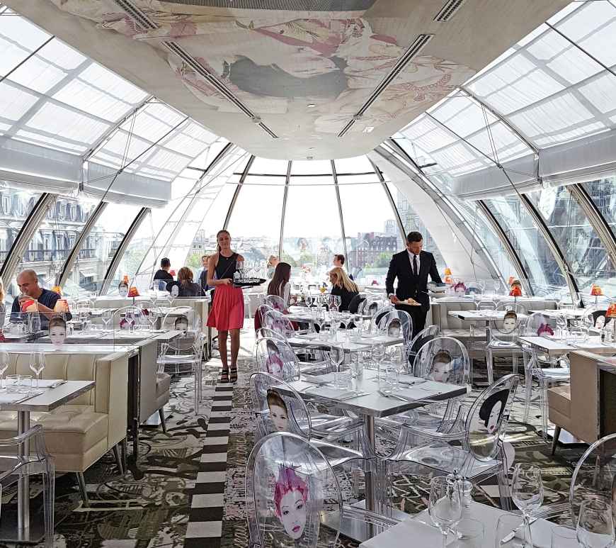 restaurant Kong Paris design